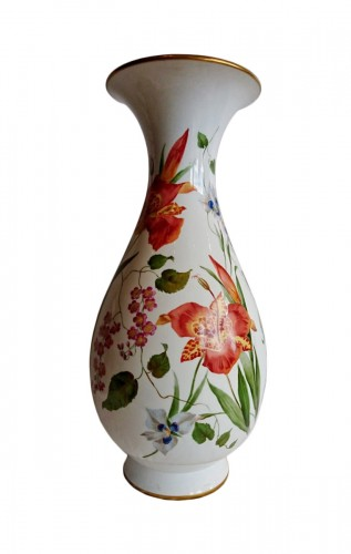 Napoleon III period Sevres porcelain vase, Charles Garnier, 1853