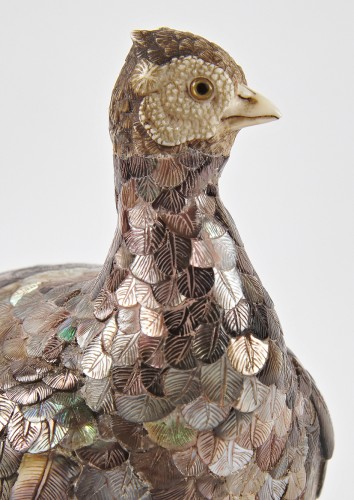 Asian Art & Antiques  - A fine Japanese Meiji Pheasant, circa 1880