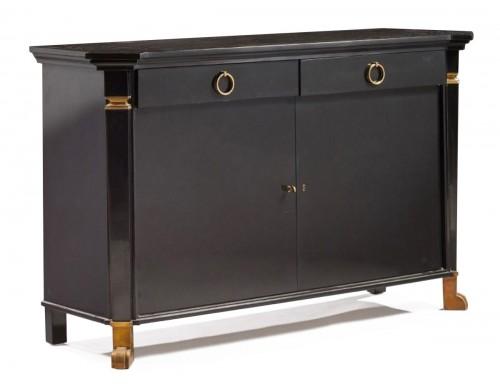 """""""cubic shape"""" dresser by André ARBUS, circa 1950"""