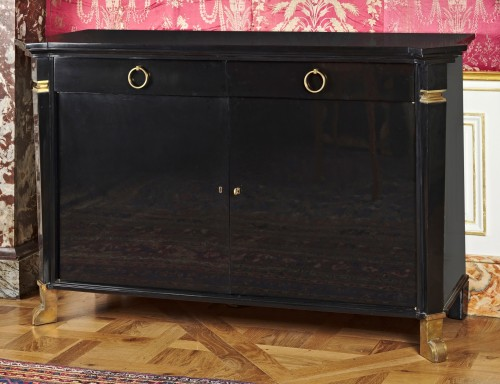 "Furniture  - ""cubic shape"" dresser by André ARBUS, circa 1950"