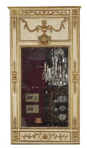 A large Italian neoclassical trumeau circa 1780