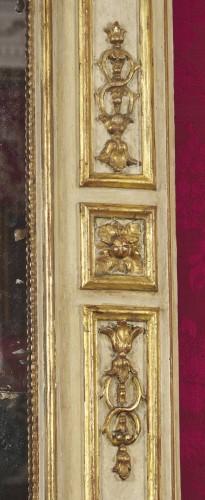 Mirrors, Trumeau  -  A large Italian neoclassical trumeau circa 1780