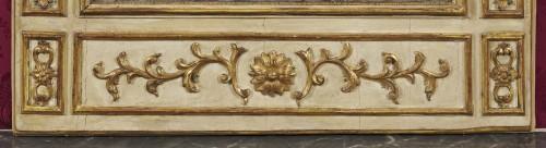 A large Italian neoclassical trumeau circa 1780 -