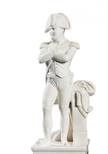 A Paris porcelain column dedicated to Napoleon -