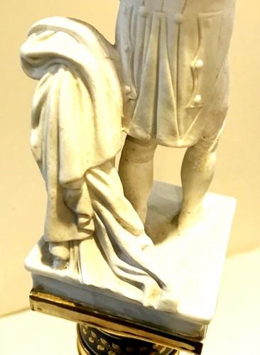 Antiquités - A Paris porcelain column dedicated to Napoleon