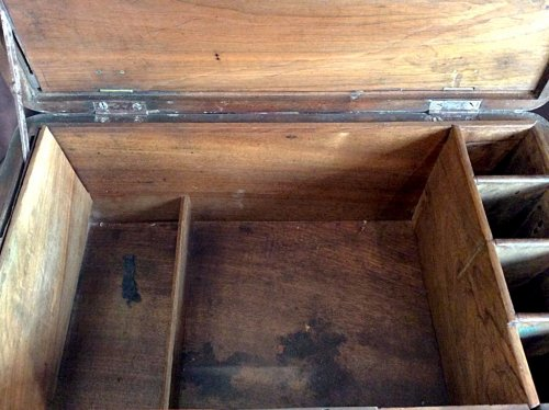 Furniture  - Large box with secret drawers by Jean-François Hache