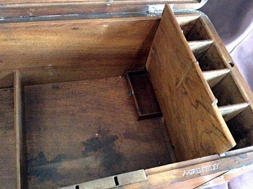 Large box with secret drawers by Jean-François Hache -