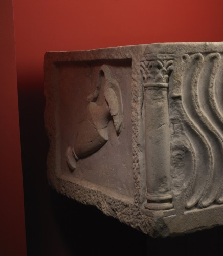 16th century - Roman Sarcophagus with Strigils, 3rd century