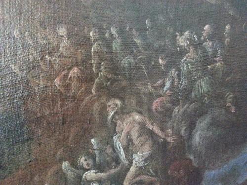 Francesco Maffei Vicenza 1605 - Padova 1660) - I santi Antonio Abate e Paolo Eremita -