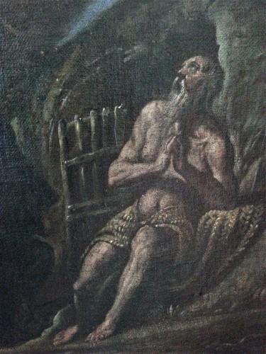 Francesco Maffei Vicenza 1605 - Padova 1660) - I santi Antonio Abate e Paolo Eremita - Louis XIV