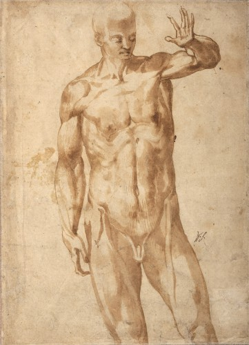 Marco Marchetti detto Marco da Faenza (Faenza, 1528c. – 1588) - Paintings & Drawings Style Renaissance