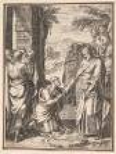 Paintings & Drawings  - Girolamo MUZIANO (Brescia, 1532 - Rome, 1592) - The handover of the keys to Saint Peter