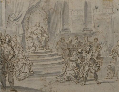 Domenico Maria FRATTA (Bologne, 1696 - 1763) drawing