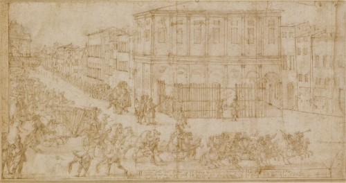 Ilario Giacinto MERCANTI dit IL SPOLVERINI (Parme, 1657- Piacenza, 1734)