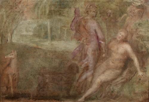 Otto van VEEN, known as Otto VENIUS (1556 -1629) - Venus and Adonis