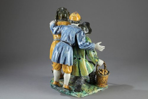 Porcelain & Faience  - Italy, Urbino  - PATANAZZI Studio End of 16th century
