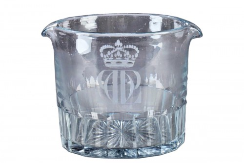 Glass cooler for the King Louis Philippe, Baccarat (1830 - 1848)