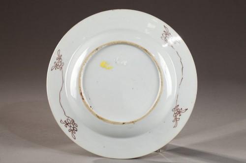 Porcelain & Faience  - Set of six export ware plates, China Circa 1735