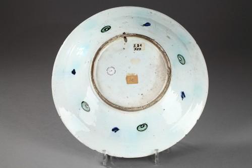 Isnik dish, circa 1590 - 1600 - Porcelain & Faience Style