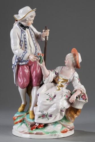 Porcelain & Faience  - Niderviller Faience group. Mid 18th century