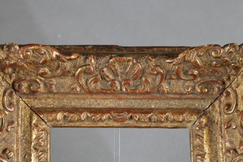 Carved giltd oak wood frame, France 18th centuryA  -