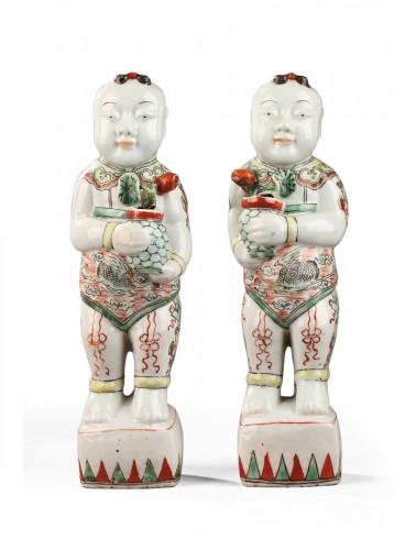 Famille vert Hoho, China late 17th century
