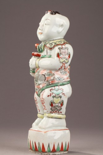 Porcelain & Faience  - Famille vert Hoho, China late 17th century