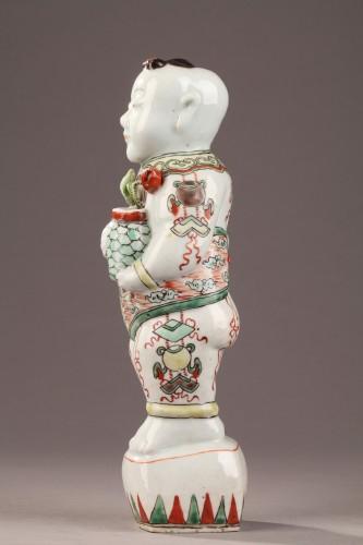 - Famille vert Hoho, China late 17th century