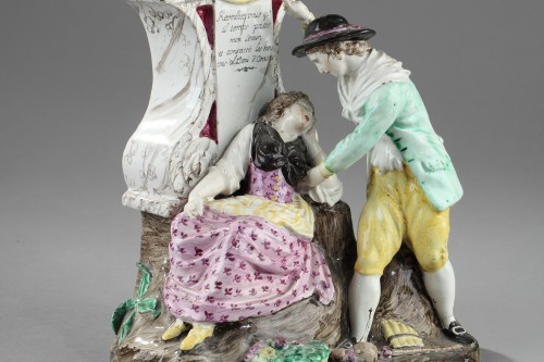 18th century - Boselli manufacture at Savone, Watch holder. second half of 18 th century