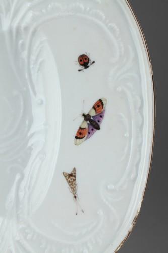 MEISSEN : Porcelain dish circa 1750. - Porcelain & Faience Style