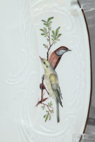Porcelain & Faience  - MEISSEN : Porcelain dish circa 1750.