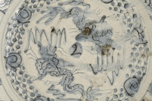 Porcelain & Faience  - China Swatow dish, early 17th century