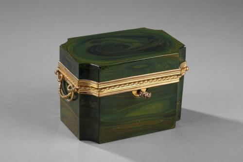 Objects of Vertu  - Lythialine casquet, Bohêmia circa 1830