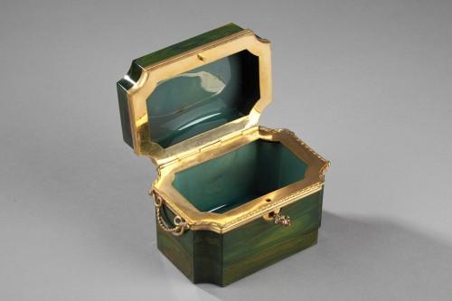 Lythialine casquet, Bohêmia circa 1830 -