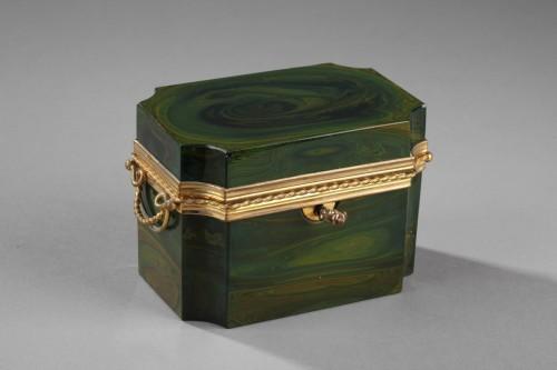 19th century - Lythialine casquet, Bohêmia circa 1830