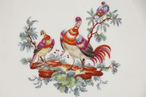 Tournai Soft-paste porcelain plate, second hald of 18th century - Porcelain & Faience Style
