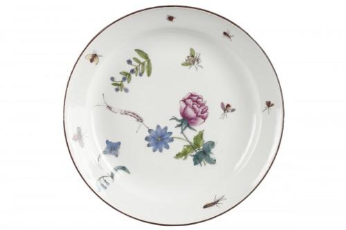 MEISSEN : Plate circa 1740 - 1745