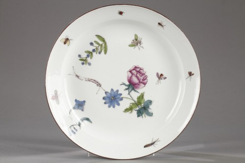 Meissen Plate circa 1740 - 1745 - Porcelain & Faience Style