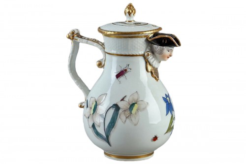 Jug, porcelain of Meissen 1740 - 1745