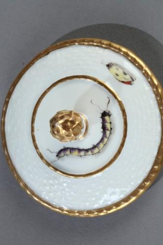 Jug, porcelain of Meissen 1740 - 1745 -