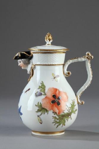 - Jug, porcelain of Meissen 1740 - 1745
