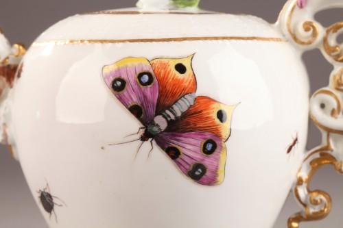 Antiquités - Teapot, porcelain of Meissen shaded period 1740 - 1745