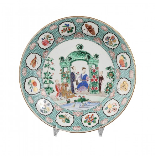 18th century, China export dish