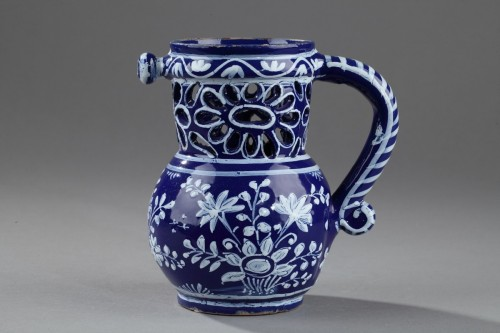 Porcelain & Faience  - Nevers Trick jug circa 1650 - 1660