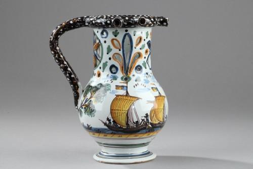 NEVERS : Trick jug circa dated 1809 -