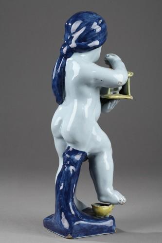 18th century Delft Figure -