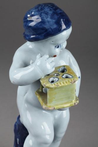 Antiquités - 18th century Delft Figure