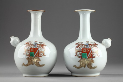 Antiquités - CHINA : Armorial Kendis Circa 1760