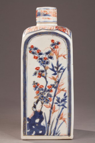 CHINA : Pair of bottles for tea. Early 18th century - Porcelain & Faience Style
