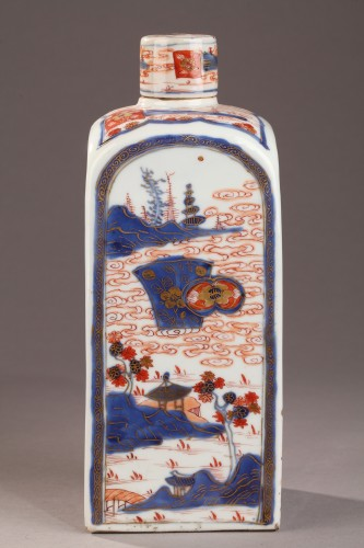 Porcelain & Faience  - CHINA : Pair of bottles for tea. Early 18th century